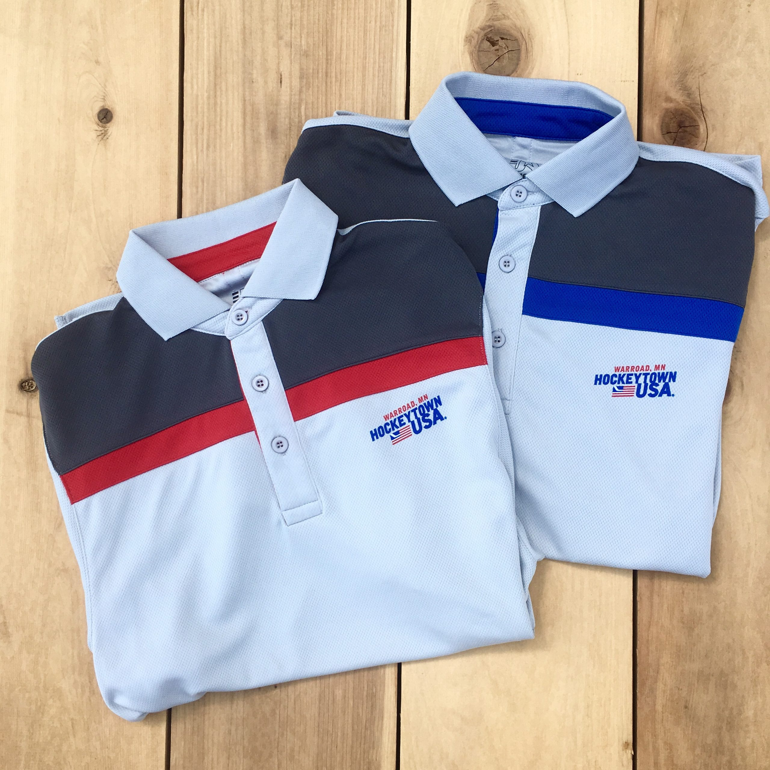 HOCKEYTOWN USA MEN'S POLO